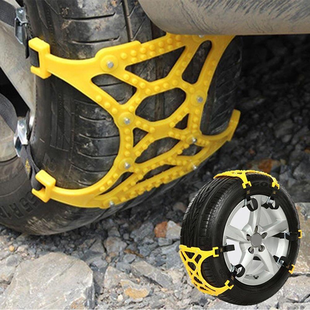 Car Vehicle Truck Off-Road SUV Safe Snow Tire Wheel Chain Anti-skid Mesh  Belt