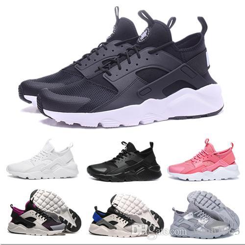 341baf89a 2019 Huarache Ultra Run zapatos triple blanco negro hombres mujeres zapatos  para correr rojo gris Huaraches deporte zapato hombre para mujer ...
