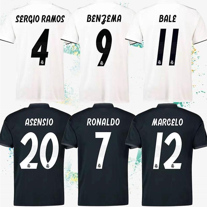 best service 0c4f1 16e29 Thailand Real Madrid Jerseys 4 Ramos 7 Ronaldo Soccer Jerseys Real Madrid  White home Soccer Jersey 8 Kroos 9 Benzema 10 Modric