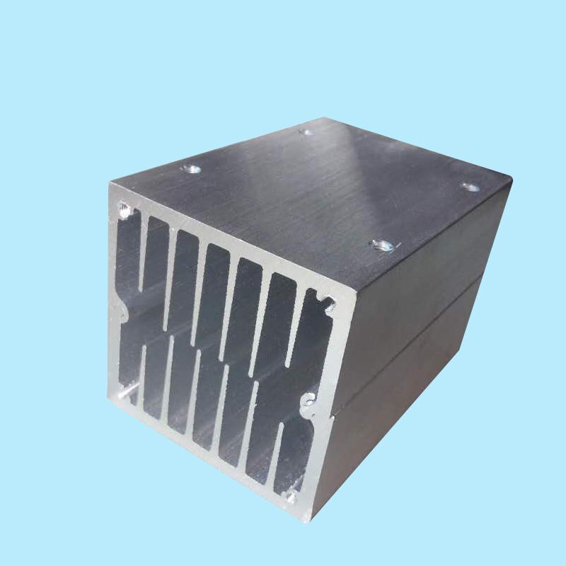 60*60*90MM Semiconductor refrigerator Aluminum Heat pipe heat sink PC Water cooling radiator
