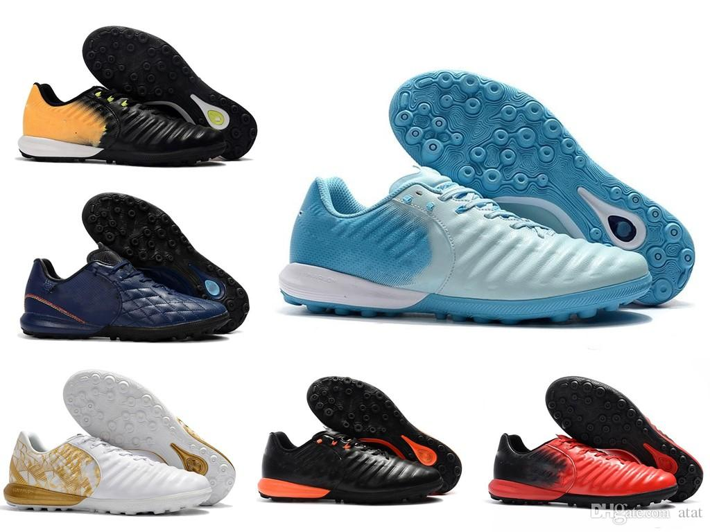 4446c123ac07 High Quality Lastest 2018 White Gold Original TimpoX Finale TF Football  Boots Mens Boys Fashion Soccer Cleats Soccer Shoes Size EU39 45 Men Running  Shoes ...