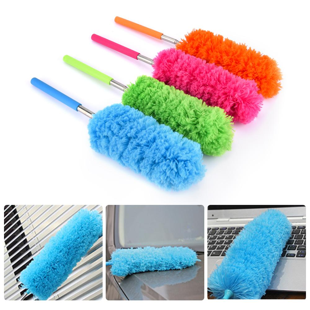 Microfiber Telescoping Duster Extendable Dust Brush Cleaner Closet Car Kitchen Accessory Household Cleaning Supplies (11)
