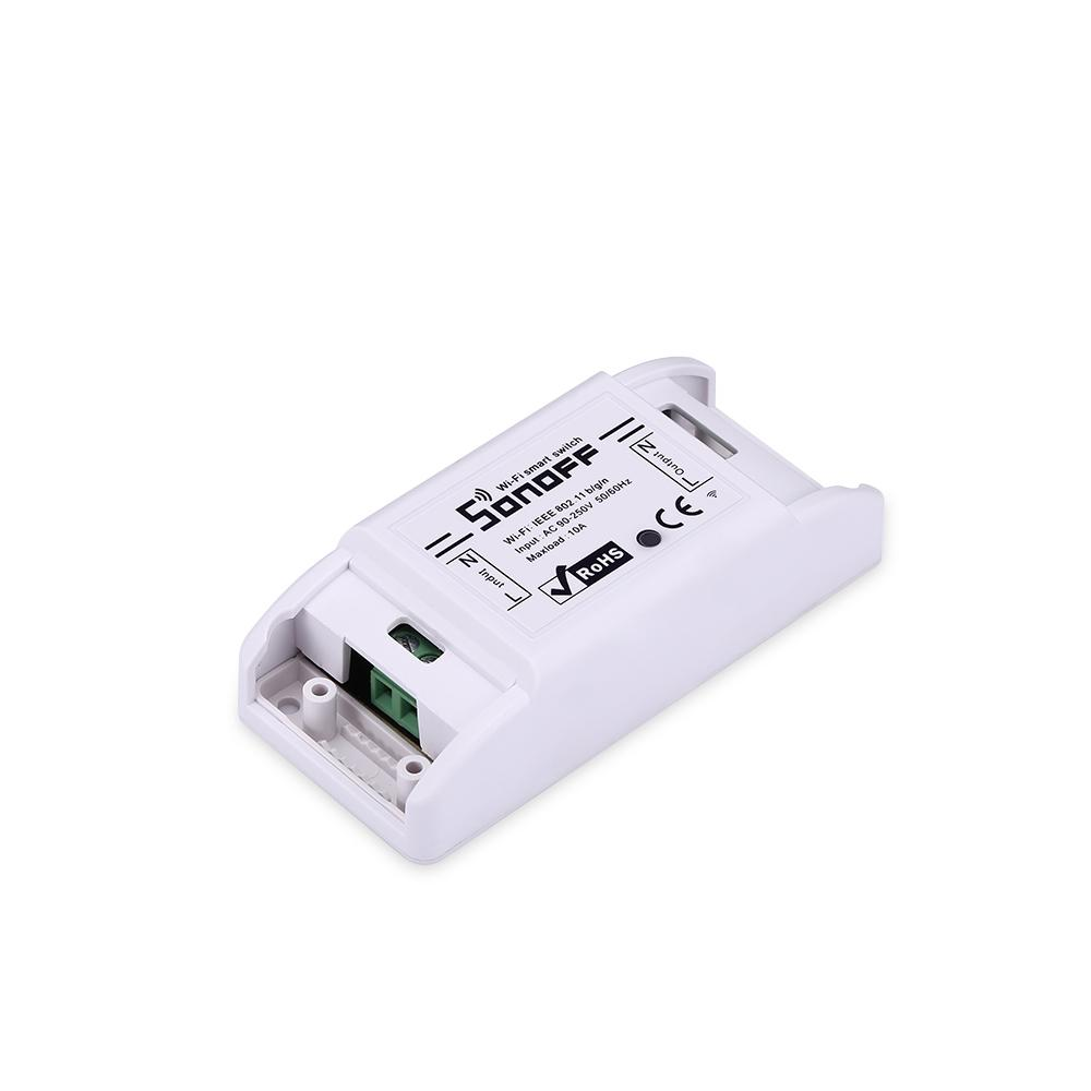 Sonoff Basic Wifi Switch Domotica senza fili Domotica Light Smart Home Automation Relay Module Controller Lavora con Alexa