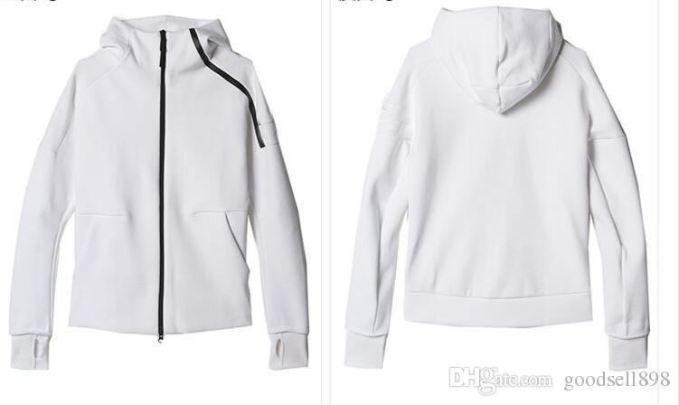 d88b65f4869ab Satın Al Yeni Z.N.E Hoody Erkek Spor Takım Elbise Siyah Beyaz ...