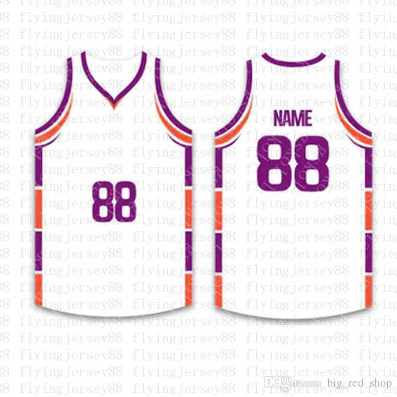 Top Custom Basketball Jerseys Mens Embroidery Logos Jersey Free Shipping Cheap wholesale Any name any number Size S-XXLtgw2