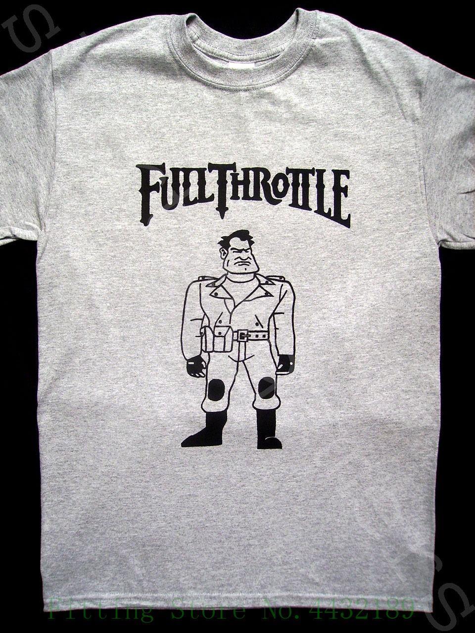 fabb6562d Full Throttle T Shirt Maniac Mansion Loom Lucasarts Grim Fandango Day  Tentacle T Shirt Short Sleeve Brand Make T Shirts Online Tees Design From  Yubin07, ...