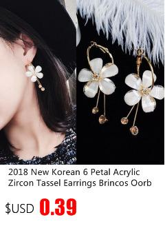 2019 neue mode schöne koreanische stil asymmetrische sterne mond frauen temperament ohrstecker lange persönlichkeit ohrringe