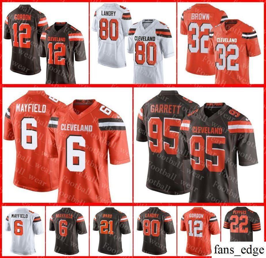 5b27e5d018b 2018 Mens Women Youth Cleveland Browns Jersey 6 Baker Mayfield 73 Joe  Thomas 95 Myles Garrett 80 Jarvis Landry Tyrod Taylor Football Jerseys From  Fans edge