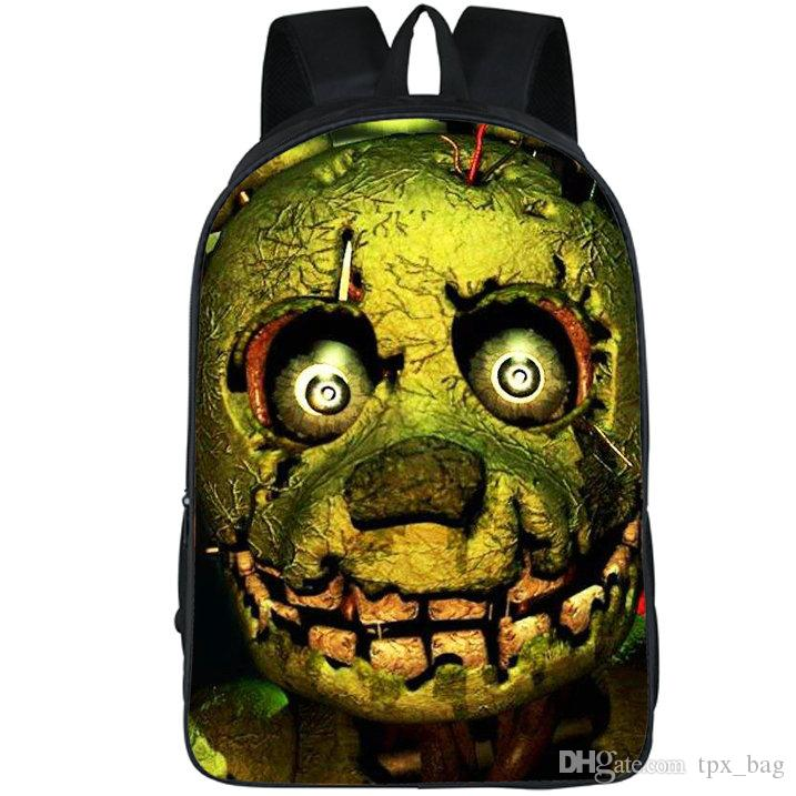 Zaino Five Nights at Freddy Toy bear freddys daypack Zaino per nave gratuito Zaino casual Zaino per lo sport Outdoor day pack