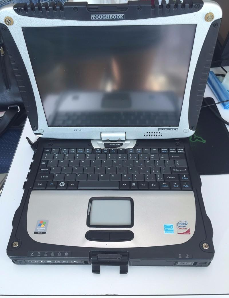 v10.53 alldata and mitchell 5.8 auto repair workshop with Touch screen for laptop cf19 1tb hdd
