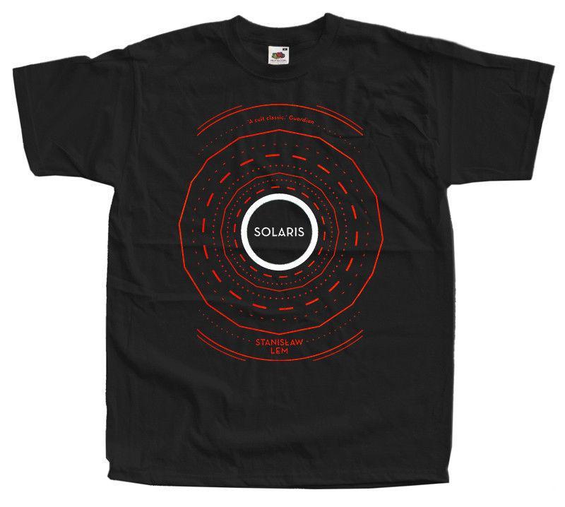 Solaris Science Fiction Novel By Stanisaw Lem V2 T Shirt Sizes S