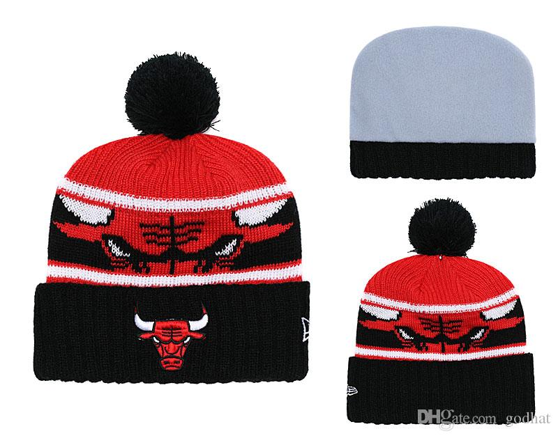 Knit Pom Beanie Hats Winter Caps Brand Sports Teams Knitted Hat SidelinE  Sport Knit Hat With Pom Order High Quality YDMY33 Baby Hat Crochet Baby Hats  From ... 4ed2a0495489