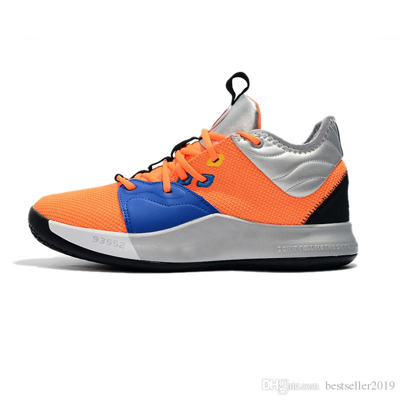 huge discount e4450 15994 2019 New Paul George PG 3 x EP Palmdale PlayStation Mens Basketball Shoes  for Cheap USA Designer PG3 3s Sports Sneakers Size 40-46