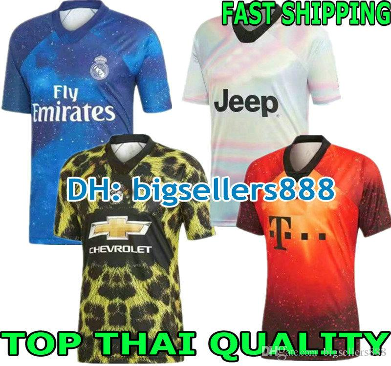 2019 Munich 18 19 Special Edition Jersey Soccer TOP QUALITY Real Madrid  United 2018 2019 JUVENTUS MAN Football Shirt EA SPORTS RONALDO UTD From ... 25dcdc9b7