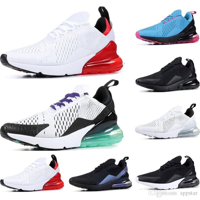 nike air max 270 Zapatillas deportivas baratas para hombres, mujeres, triple negro blanco, tienen un día South Beach Throwback Future Hot Punch,