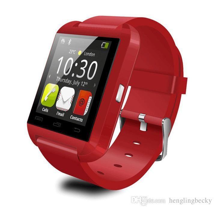 57921bc3409 Compre Inteligente U8 Relógios Smart Watch U8 Relógio De Pulso Suporte Por  Telefone Iphone 4 4s 5 5s Samsung S4 S5 Nota 2 Nota 3 Htc Android Telefone  ...