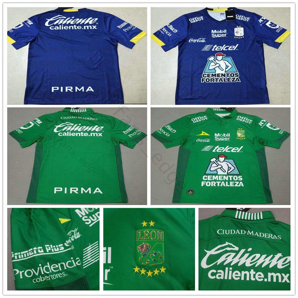 18cd68c9b 2019 2018 2019 LIGA MX Club Leon Soccer Jerseys 17 Boselli Hernandez  Tesillo Moreno Custom Home Away Green Club Leon F.C. Football Shirt From  Fans edge