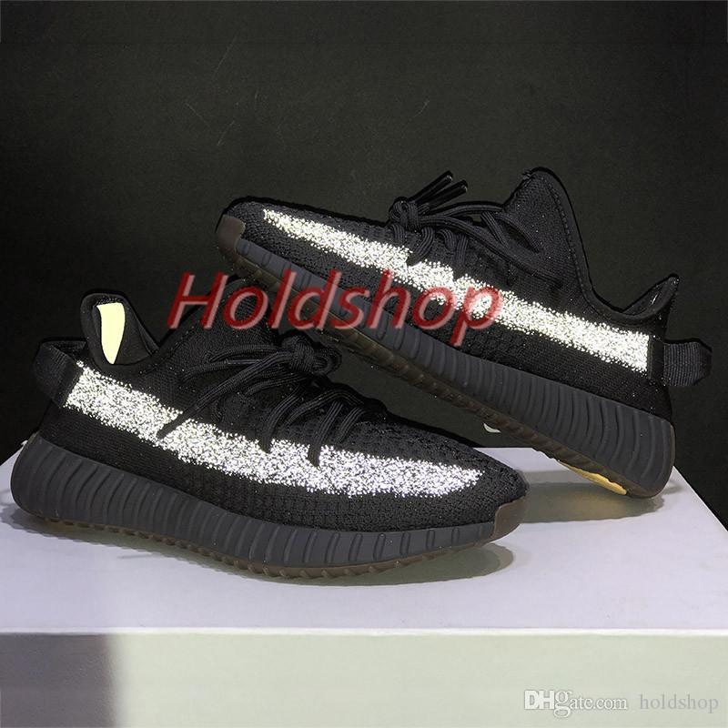 지구 스타일리스트 카니 예 웨스트 Kanye West 테일 라이트 사막 습지 아마 Yeshaya 남성 Yecheil 랜드 마크 블랙 정적 반사 여성 스니커즈 신발을 실행