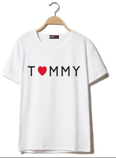 0a1085e8c28a8a Acquista T Shirt Da Uomo E Da Donna Larghe, Monogram Stampate, 100% Cotone  Traspirante, Marchio Di Qualità Standard, Taglia S 6xl In Una Varietà Di  Colori A ...