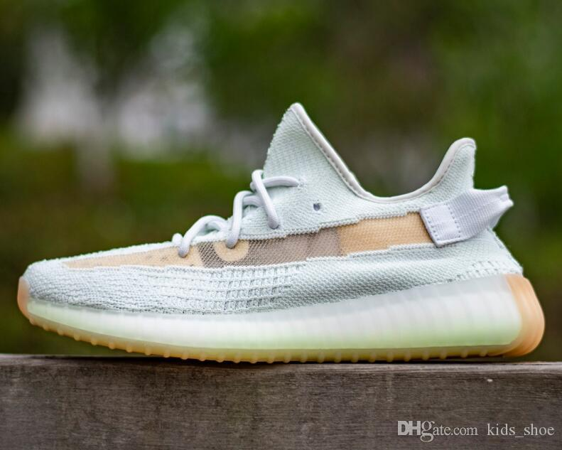 watch ebfcd 0d160 Free Shipping 2019 350 V2 Hyperspace Shoes Mens Womens Kanye West  Hyperspace Sneakers Big Size US 5- 13