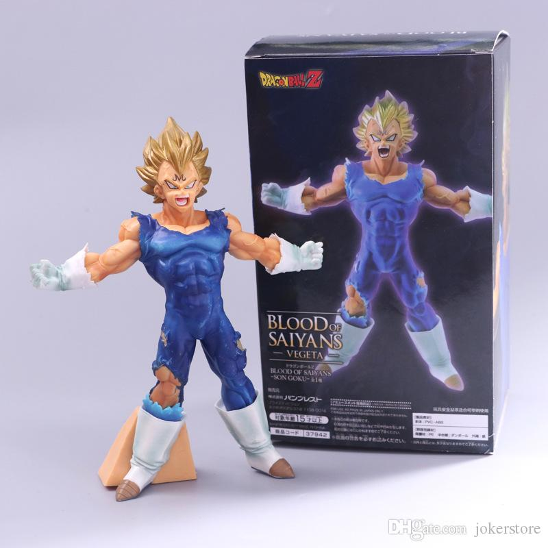 2019 Dragon Ball Z Vegeta Anime Figures Action Figure Christmas Gifts Toys Birthdays Doll New Arrvial Hot Sale PVC From Jokerstore 2835