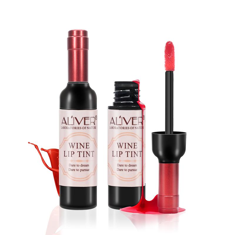 5fd55eda7 ALIVER Red Wine Lipstick Makeup Lip Tint Matte Lip Stick Nourish Gloss Lips  Make Up Cosmetics Recommend Beauty Makeup From Caohai