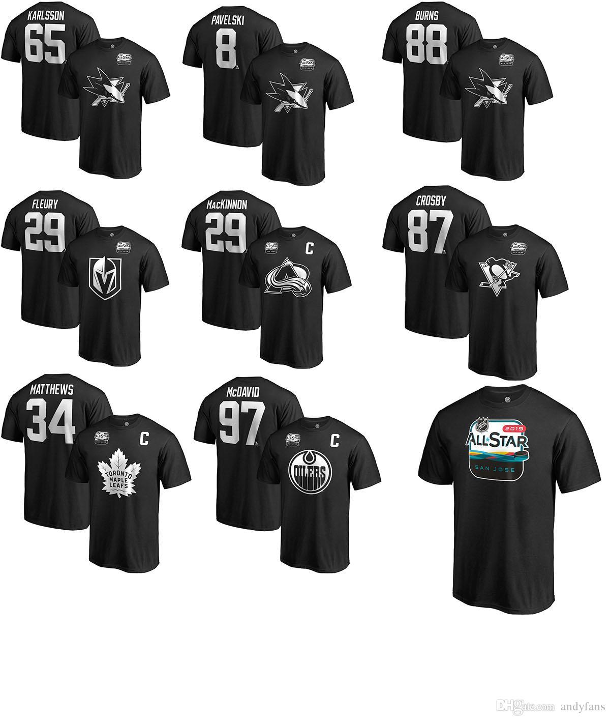 Shirt Jose Acquista Nhl 2019 Karlsson All Star San T Game Sharks KTlF1Jc