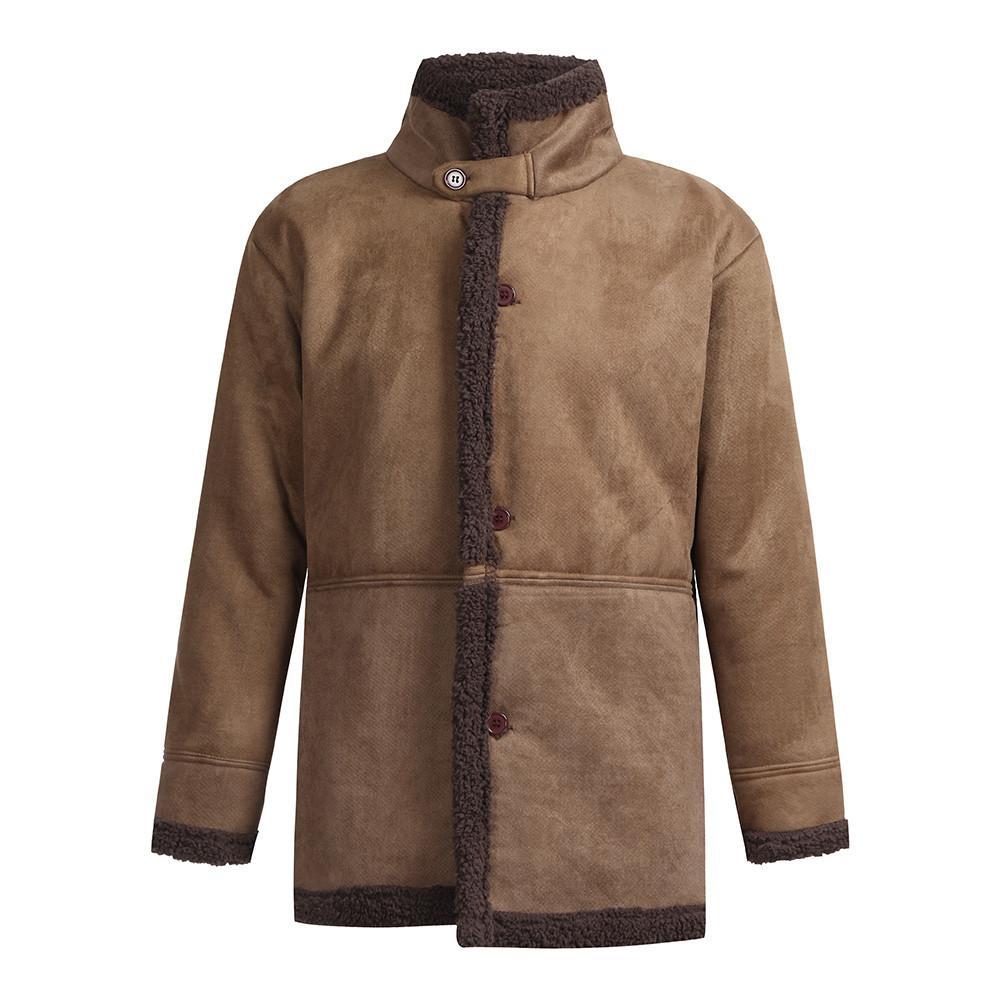 d5deea0c8e537 Satın Al 2018 Kış Erkekler Ceket Moda Marka Giyim Polar Astarlı Kalın Sıcak  Yün Palto Erkek Yün Blend Erkek Ceket Artı Boyutu Presale, $67.92   DHgate.