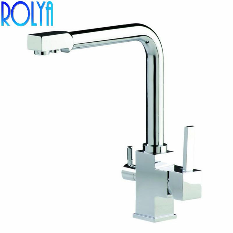 2019 rolya 3 way clean water kitchen faucet swivel osmosis reverse rh dhgate com