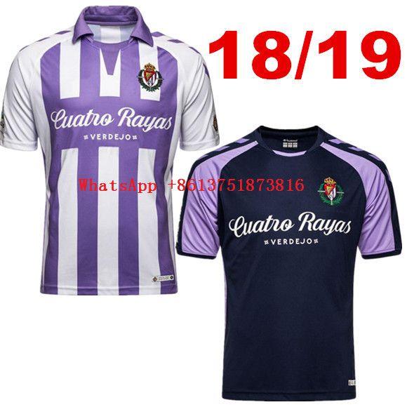 Camiseta Calidad Liga Casual Camisas Adulto 2018 Mejor Real Hombres La Valladolid Los 2019 España De Adultos dtrhCsQ