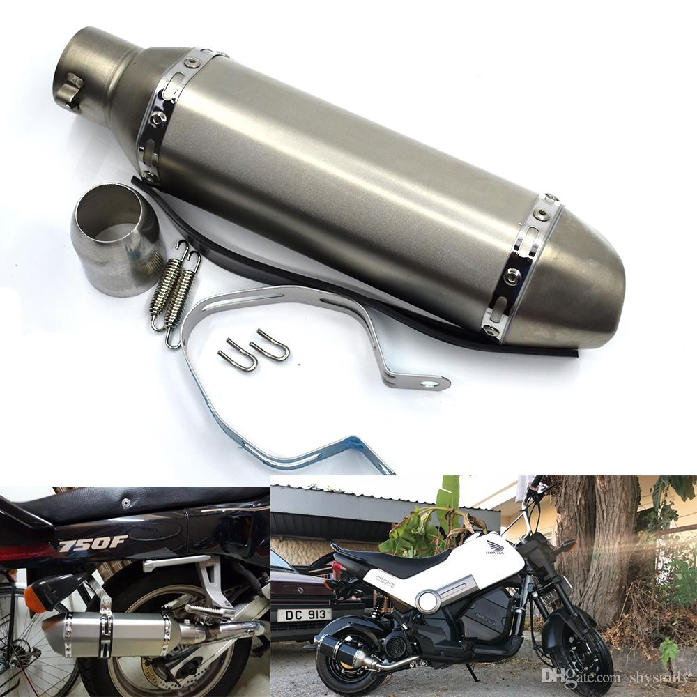 For 51mm Universal Modified Motorcycle Exhaust Pipe Motorcycle Escape  Silencer for Ducadi 899 1199 1299 2013-2016 honda cb650f 2012-2016