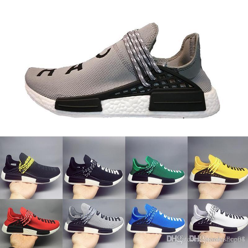 adidas clover 2019 Barato al por mayor NMD Online Human Race Pharrell Williams X NMD Calzado deportivo, descuento zapatos atléticos para hombre con