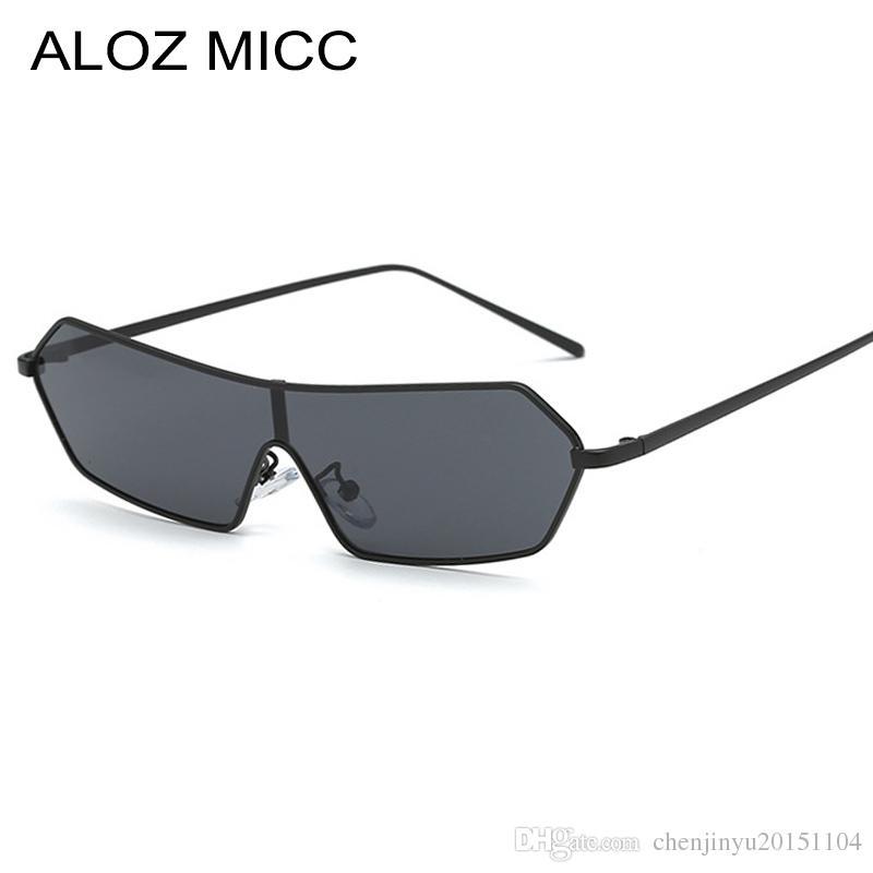 4e2c6ae2f90 ALOZ MICC Vintage Cat Eye Sunglasses Women Brand Designer Metal Frame 2019 Women  Sunglasses Fashion Mirror Eyewear A407 Sunglasses At Night Lyrics Glasses  ...