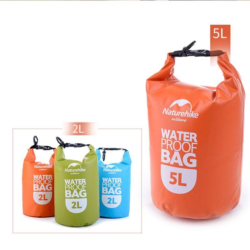 2L/5L Water proof Bag Waterproof Storage Dry Bag Phone Outdoor Canoe Kayak  Rafting Swimming Beach Sport Bags Kit Equipment #717476