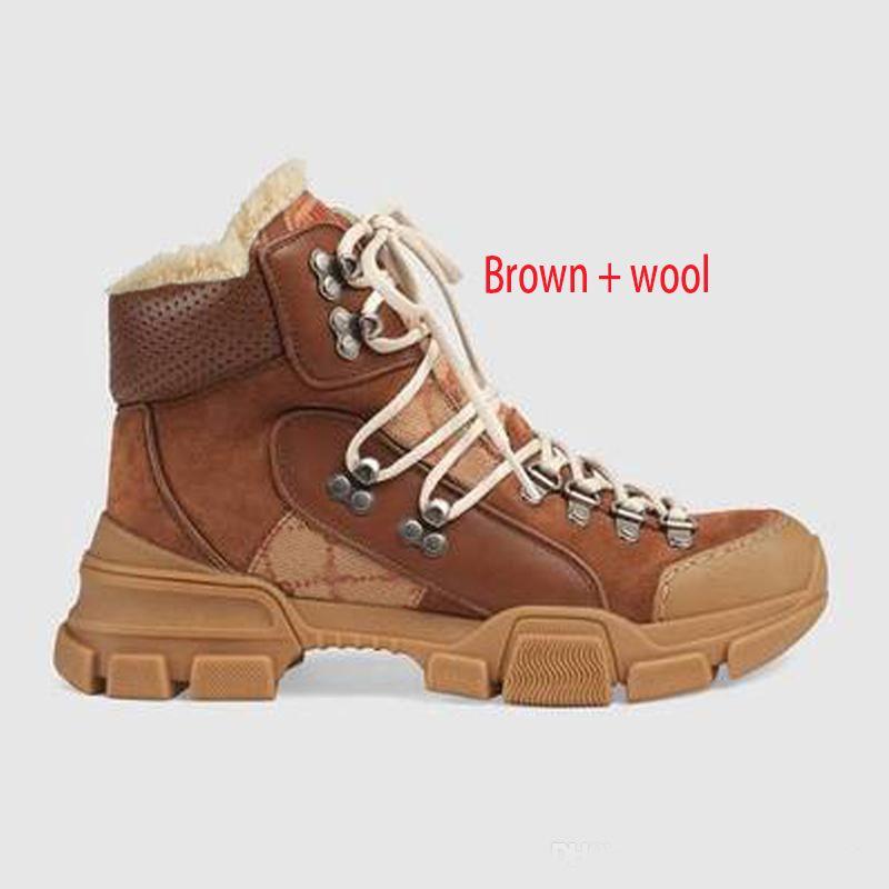 {} Logo originale Martin stivali 100% degli uomini di cuoio di lusso delle donne scarpe casuali autunno-inverno dello stilista di lana neve stivali caldi brevi dimensione Large