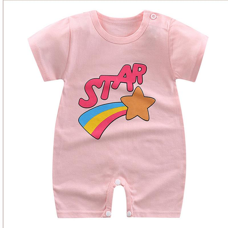 f96c4b267ae9 2019 Good Quality Baby Boys Girls Summer Jumpsuits Cotton Printed Romper  Kids Clothes Outfit Baby Rompers Summer Style Infant Clothing From  Xiaocao02