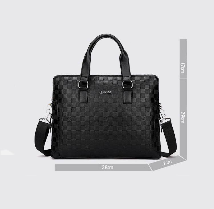 Briefcases Men's Business Bag Men Handbag Men Crossbody Bag Male Handbags Laptop Bag Luxury Designer Shoulder Messenger Bags