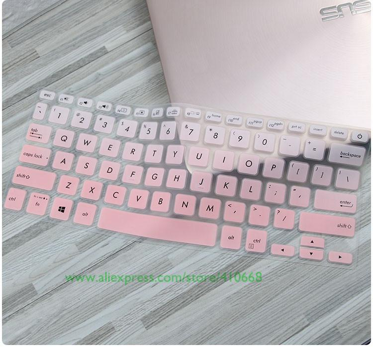 Silicone Laptop Keyboard Protector Cover Skin For ASUS VivoBook S14 S430  S430U S430UA S430UN S430UF S430FN S430FA 14 inch 2018