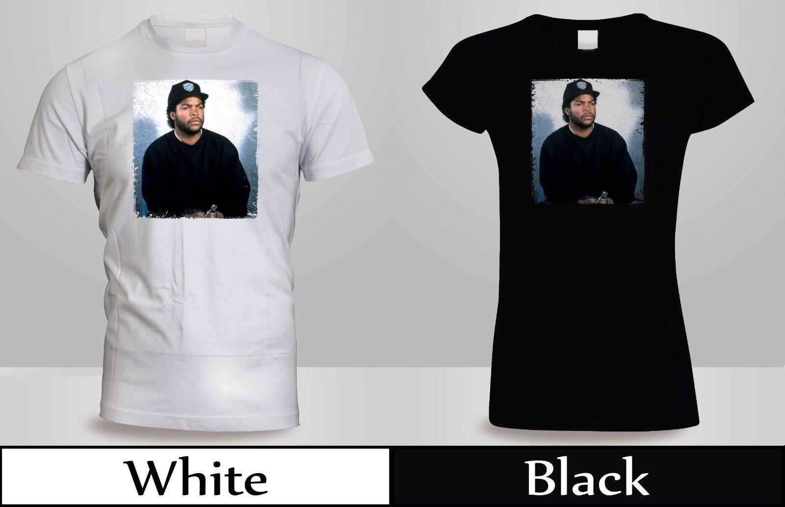 18d9e9201a06 DOUGHBOY BOYZ N THE HOOD T-SHIRT Men's/Women's Black&Whiite ICE CUBE Shirt  2 Funny free shipping Unisex Casual top