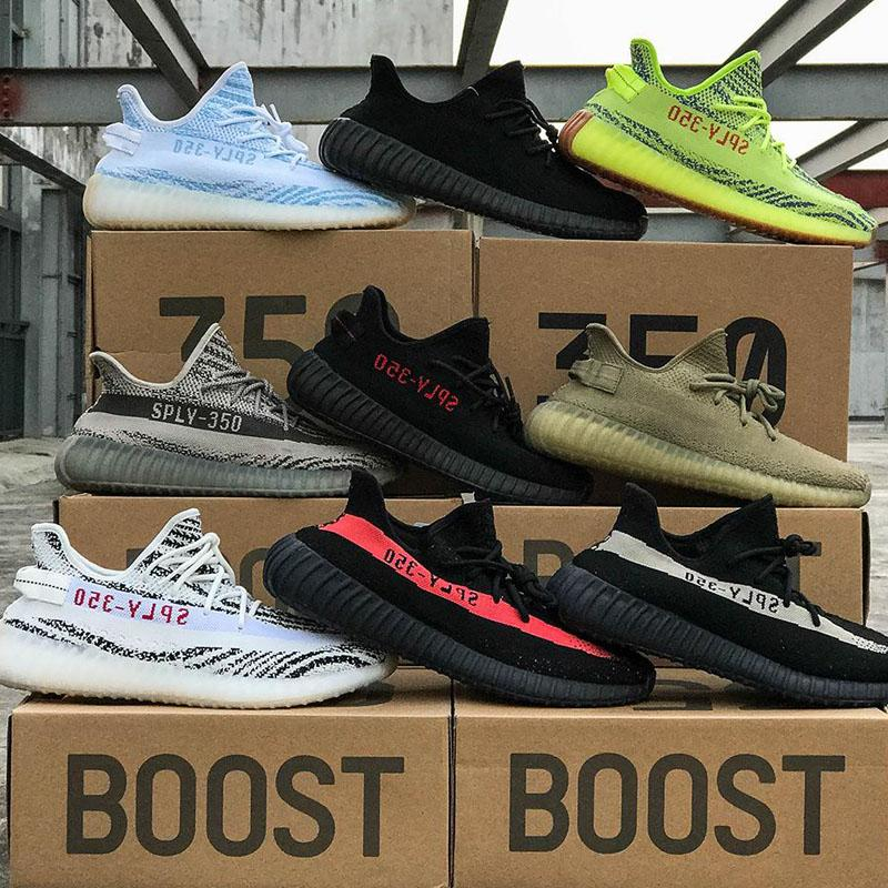 Ship With Box Yeezy 350 V2 Butter Cream White Core Black Women And Men  Boost Eur Size 36 46 Cheap Shoes For Men Purple Shoes From Vuggs a3e0f0d3c