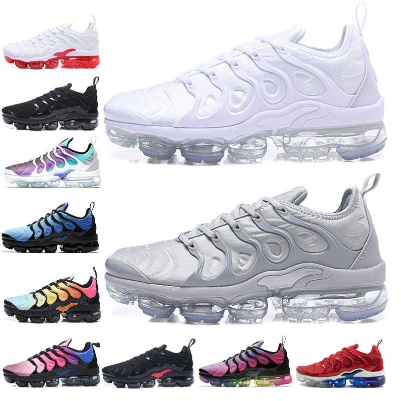 e183f7d059717 ... official compre nike air vapormax plus 2019 tn plus hombres mujeres  hyper violet blanco negro blanco