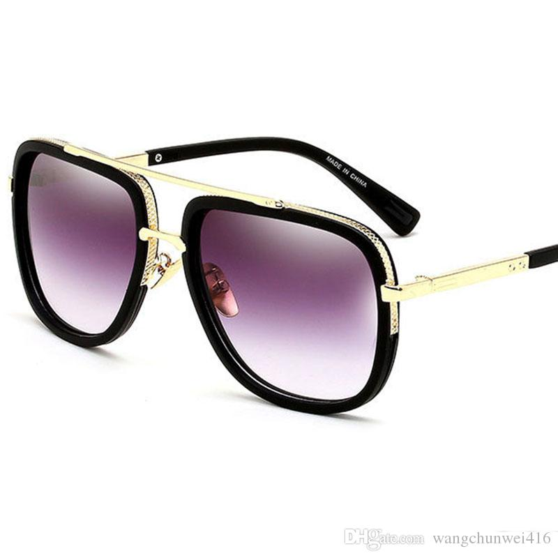 f956115748 Designer Sunglasses Mens Sunglasses Driving Beach Sun Glasses Man Style  GlassesBig Frame Yurt Mirror Glasses Baseball Sunglasses John Lennon  Sunglasses From ...