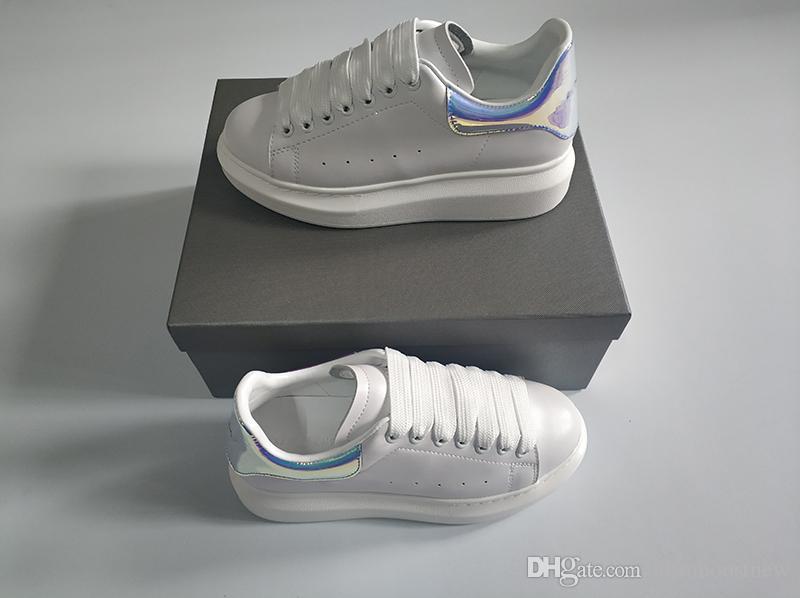 quality design be12b 45008 Modedesigner schuhe mann frauen gummisohle echtes leder übergroßen sneakers  günstige beliebte kleid schuhe mit original box größe 35-46