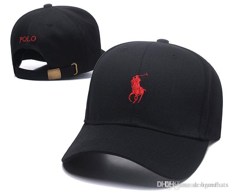 529e1acd360 Brand Designer Hat High Quality Embroidery Baseball Caps Outdoor Sports  Snapback Cap Adjustable Casual Dad Polo Hats Trucker Cap Black Red Snapback Cap  Cool ...