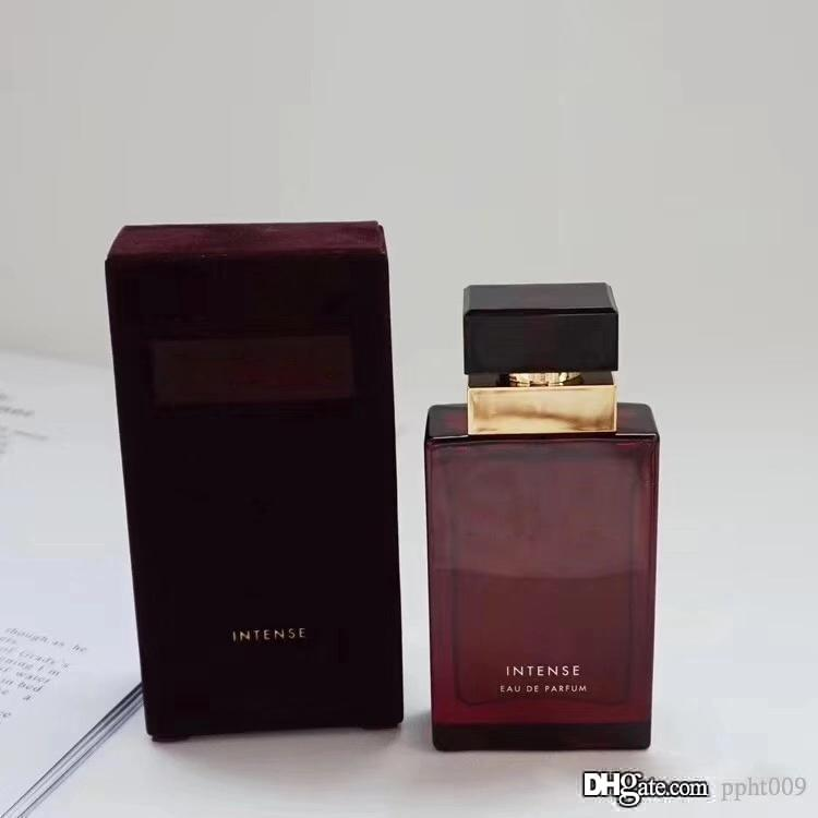 Perfume for Women Intense Strong Version 50ml 1.6FLOZ EDP Red Glass Bottle Spray Long Lasting Good Smelling The Same Brand
