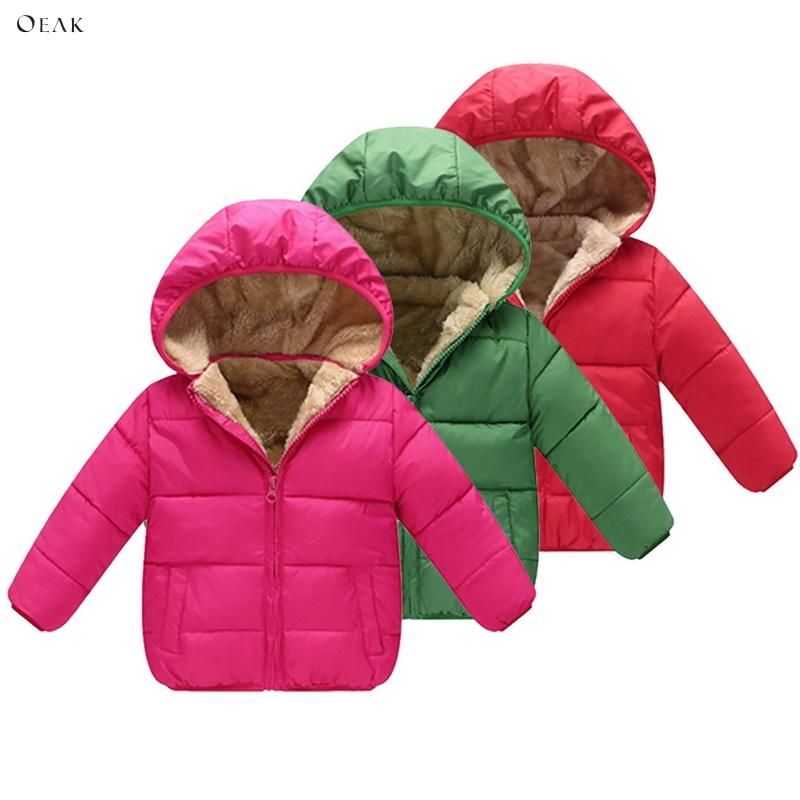 32ea425e3 Shujin Winter Baby Boys Jackets Girls Cotton Snowsuit Coats Baby ...