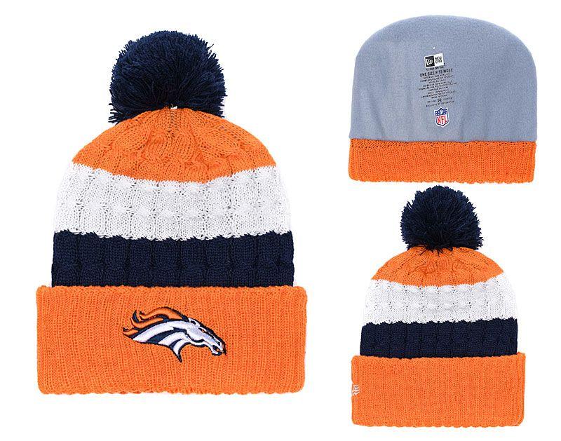 b8226ba74 Men s Denver Broncos New Orange 2018 Black White Sideline Cold ...