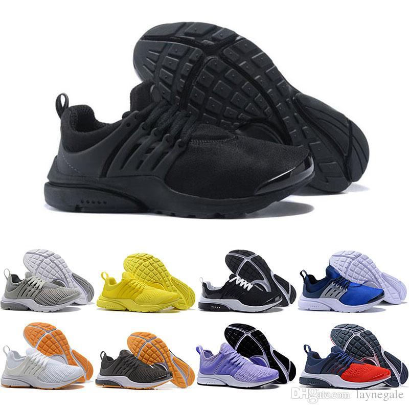 uk availability 0dd5d c1e1e Acheter Nike Air Presto Nouvelle Arrivée Presto X Mid Acronym Chaussures De  Course Hommes Femmes Formateurs Baskets De Sport Respirantes Et  Confortables ...