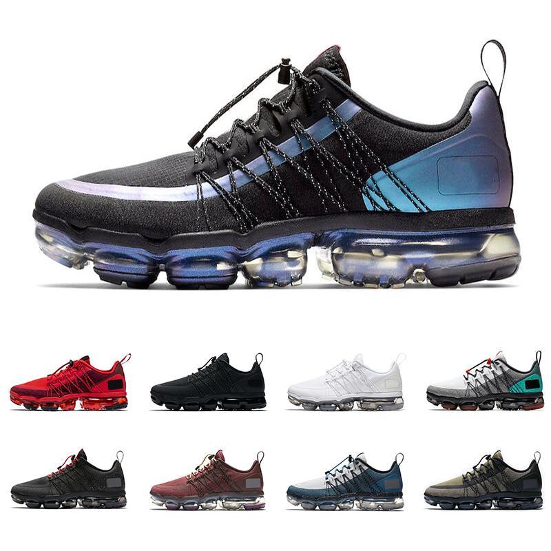 2019 Run utilitario hombre mujer zapatillas Throwback Future triple negro blanco BURGUNDY CRUSH CELESTIAL TEAL zapatillas deportivas deportivas