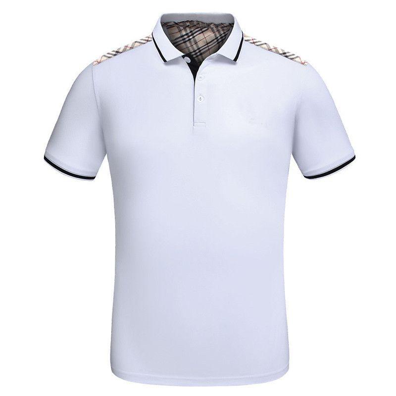 2019 New Arrival Designer Mens Polo Shirts Summer Luxury Polo Mens T ... 1056fbc71db6